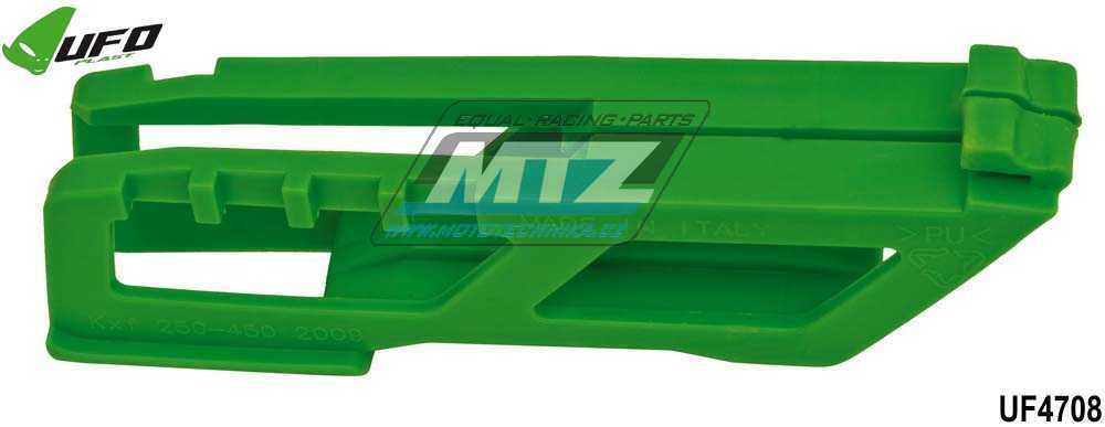 Vodítko řetězu Kawasaki KXF250 + KXF450 / 09-18 - zelené