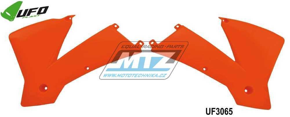 Spojlere nádrže KTM 250+380SX / 01-04 + 125SX / 02-04 + 250+450+520SX-Racing / 01-04 + 125+200+250+300EXC / 03-04 + 250+400+450+520+525EXC / 03-04 - oranžové