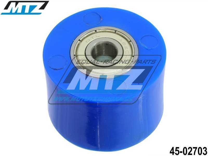 Rolna řetězu včetně ložisek (průměr 38mm) - modrá