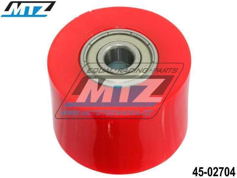 Rolna řetězu včetně ložisek (průměr 38mm) - červená