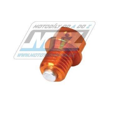 Magnetický výpouštěcí šroub M12x12-1,5 - oranžový (KTM + Husqvarna)
