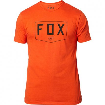 Tričko FOX Shield Premium Tee Atomic Orange - velikost XXL