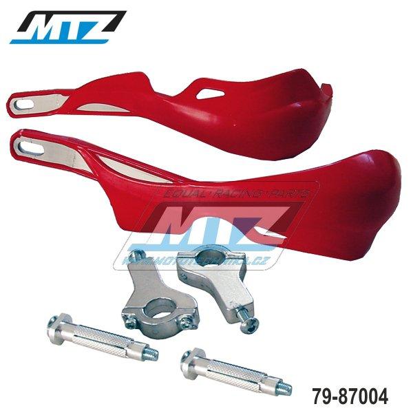 Booster PRO ALU s hliníkovou výztuhou + montážní sada 22mm - červený