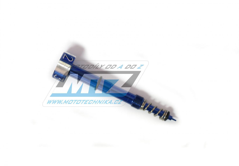Skrutka nastavovania karburátora MTZ Keihin - modrý