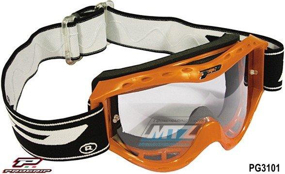Brýle Progrip dětské 3101 oranž
