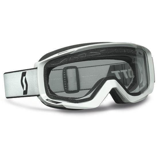 Brýle Hustle Enduro White Scott