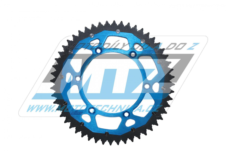 Rozeta oceľová (prevodník) 0251-51zubů MTZ PRORACE Offroad (farba modrá) - Yamaha YZ125 + YZ250 + YZF250 + YZF400 + YZF426 + YZF450 + YZF450X / 16-20 + TT-R230 / 05-20 + WRF250N / 99-01 + WRF250 / 07-20 + WRF400 / 99-01 + WRF426 / 01-02 + WRF450 / 03-20