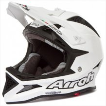 Přilba Downhill Fighter Color White Pearl  Airoh