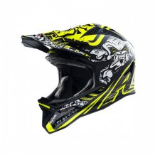 Přilba Downhill Fighter Danger Yellow Gloss  Airoh