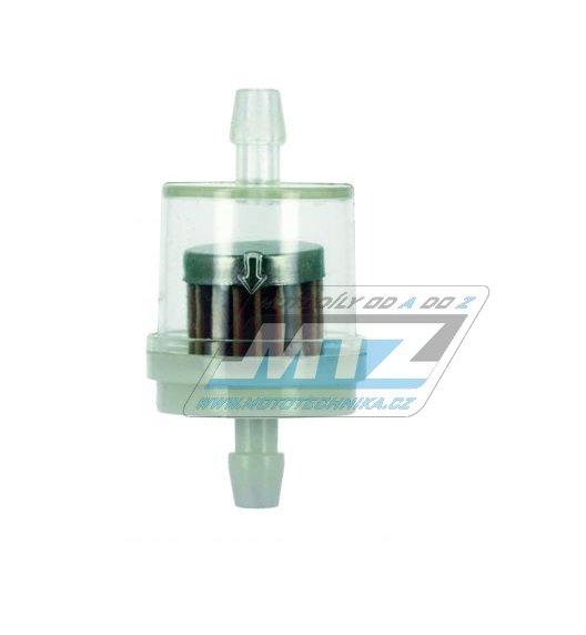 """Filtr palivový/benzínový - průměr 1/4"""" (6mm) - plastový"""