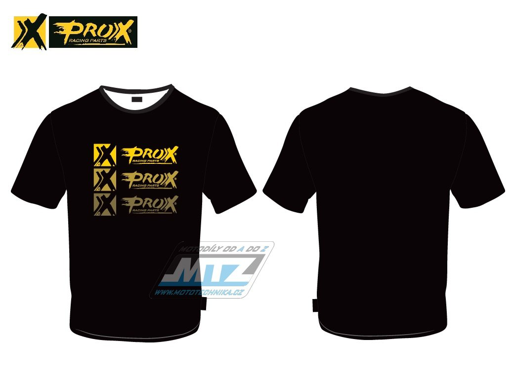 Triko Prox (TripleProx) černé - velikost L