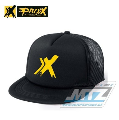 Čepice/Kšiltovka Prox Trucker Snapback - černo-žlutá