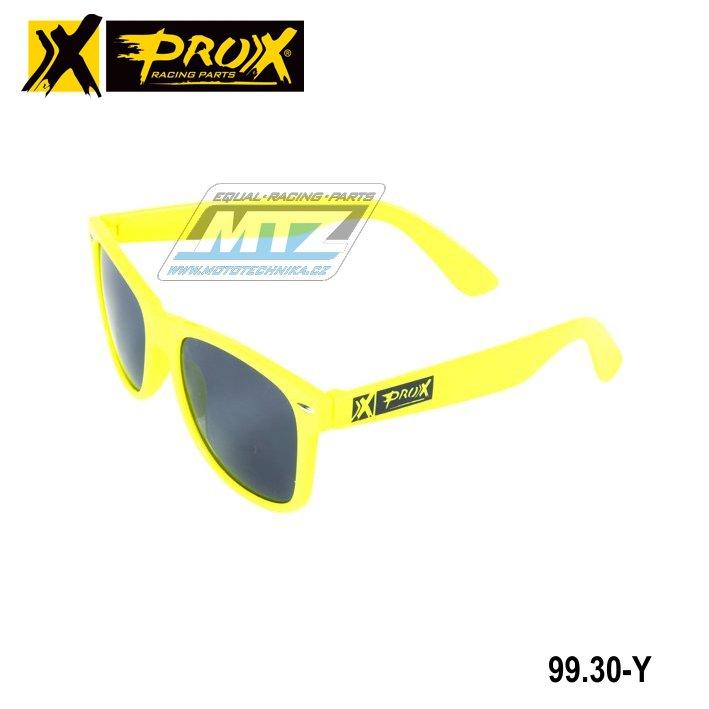 Brýle sluneční Prox žluté