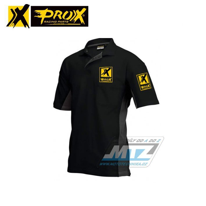 Triko Polo Prox černé L