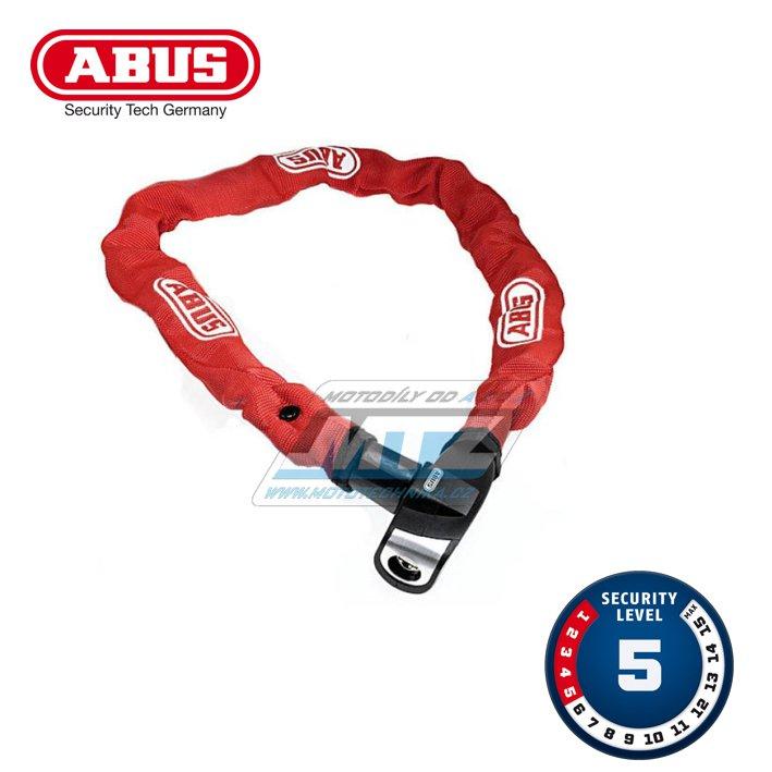 Zámek řetězový Abus 6800 (110cm) - červený