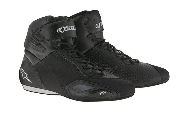 Boty kožené pánské  Faster2 Alpinestars - černé