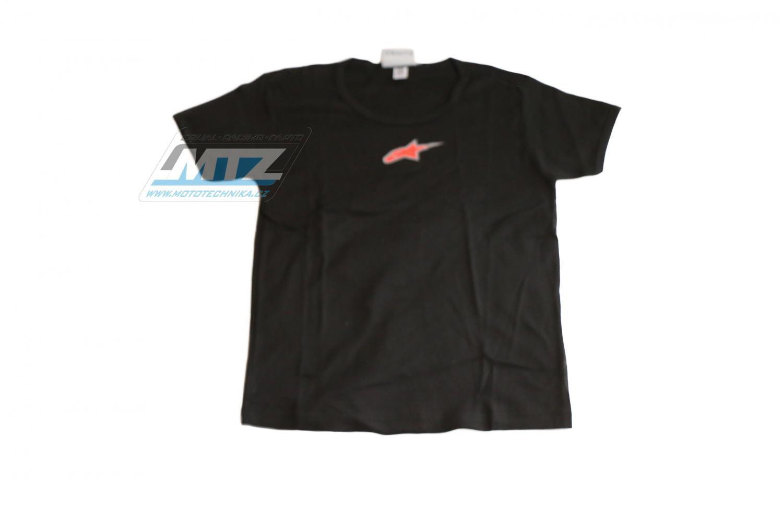 Tričko Alpinestars černé