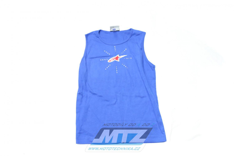 Tričko ALPINESTARS modré L