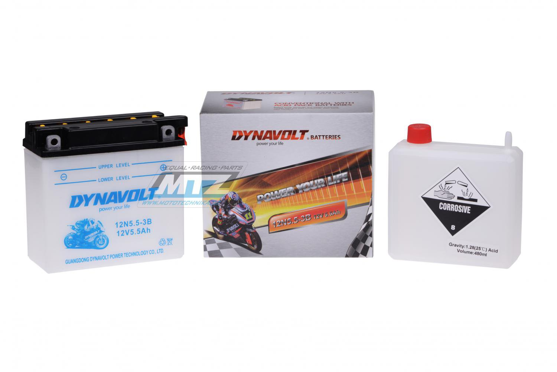 Baterie 12N5-3B (12V-5Ah)