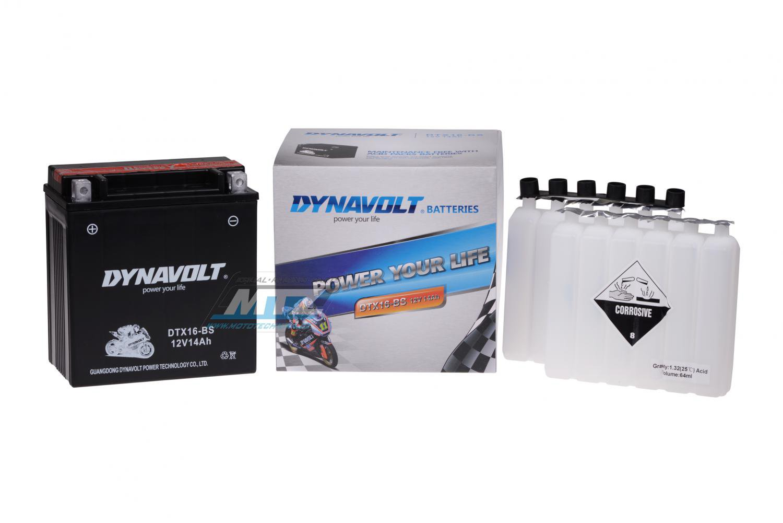 Baterie FTX16-BS (12V-14Ah)