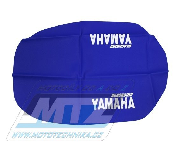 Potah sedla Yamaha XT600 / 87-90 - modrý
