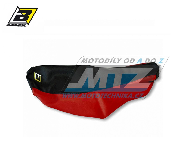 Potah sedla Yamaha XT660R + XT660X / 04-17 - červeno-černý