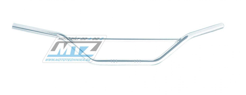 Řidítka s hrazdou ocelová chromové (lesklý povrch)