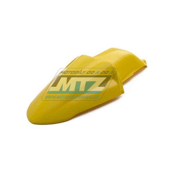 Blatník zadní Husqvarna TE410+TE570+TE610 / 92-99 + TC410+TC570+TC610 / 92-99 - žlutý