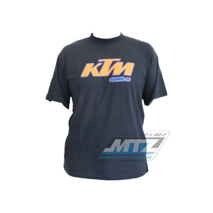 Tričko Cemoto se znakem KTM (krátký rukáv) - velikost L