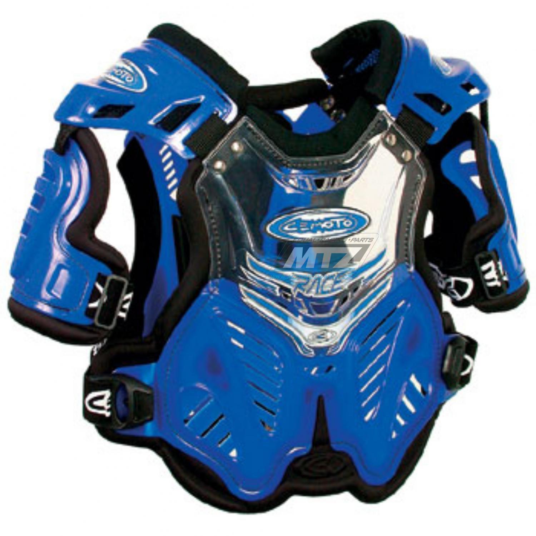 Nárameníky Cemoto Race modré