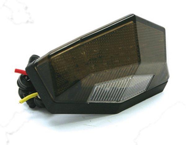Zadní světlo Edge2 12V - kouřové