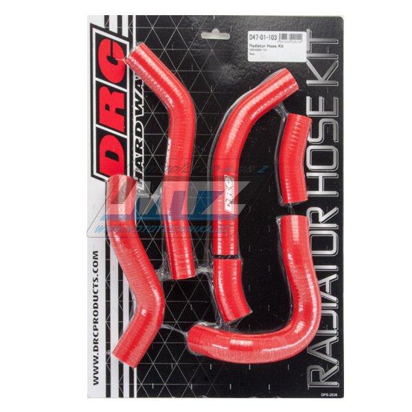 Hadice chladiče Honda CRF450R / 15-16 červená (sada 6ks)