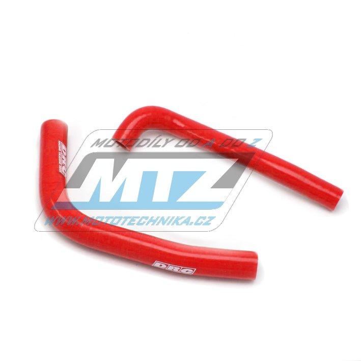 Hadice chladiče Honda CRF250L / 12-16 - červené (sada 2ks)