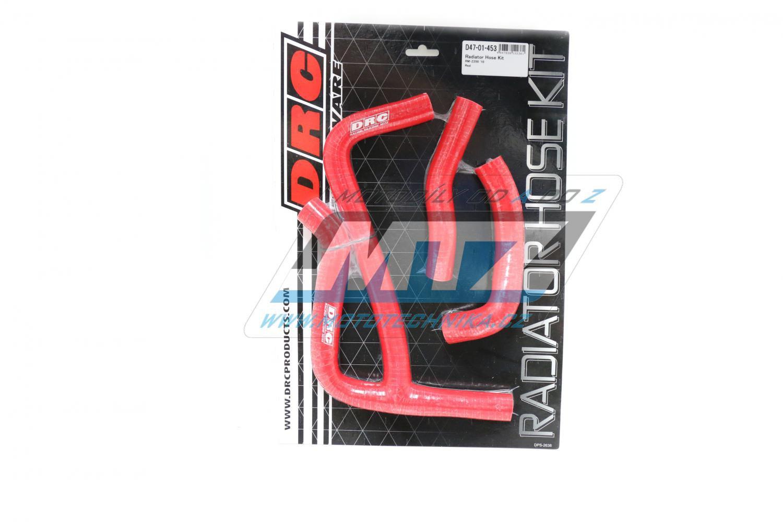 Hadice chladiče Suzuki RMZ250 / 10 červené (sada 3ks)