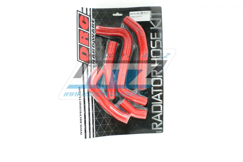Hadice chladiče Suzuki RMZ250 / 11-12 červené (sada 5ks)
