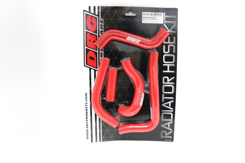 Hadice chladiče Suzuki RMZ450 / 08-14 + RMX450Z / 10-15 červené (sada 5ks)