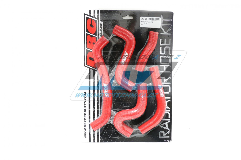 Hadice chladiče Suzuki RMZ450 / 15-17 červené (sada 5ks)