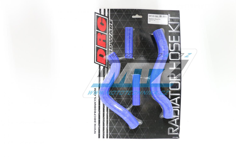 Hadice chladiče Suzuki RM250 / 01-12 modré (sada 4ks)
