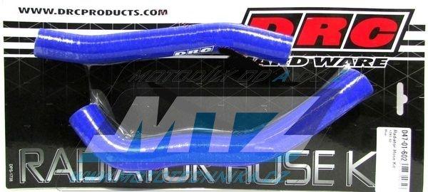 Hadice chladiče Yamaha YZ85 / 02-17 modré (sada 2ks)