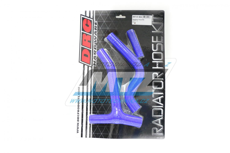 Hadice chladiče Yamaha YZF250 / 10-13 modré (sada 3ks)