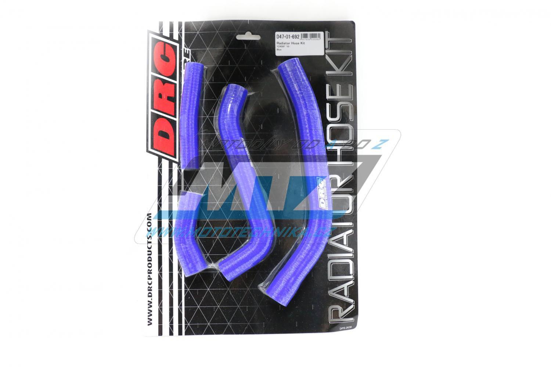 Hadice chladiče Yamaha YZF450 / 10-13 modré (sada 4ks)