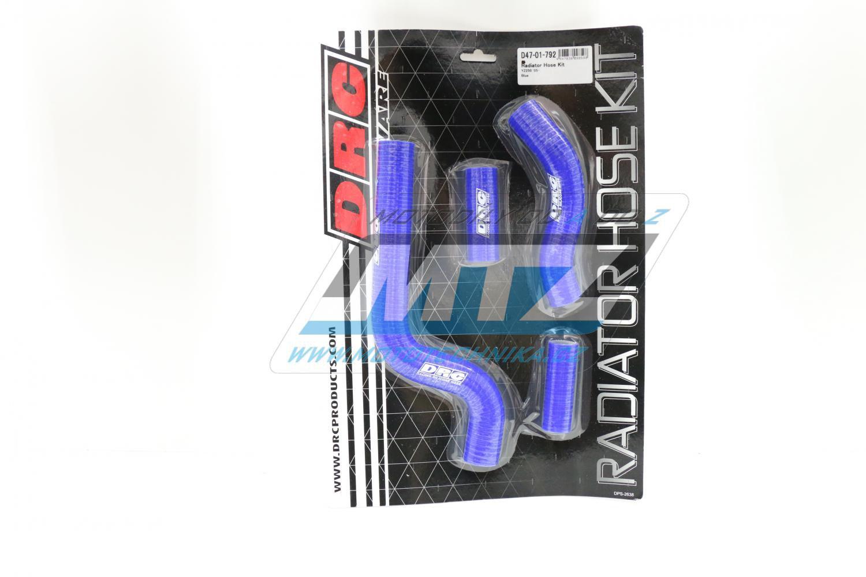 Hadice chladiče Yamaha YZ250 + YZ250X / 02-17 modré (sada 4ks)