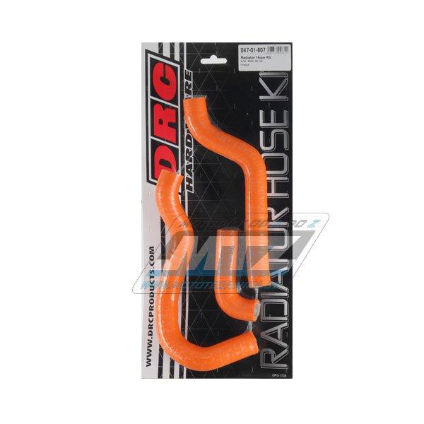 Hadice chladiče KTM 65SX / 02-08 oranžové (sada 3ks)