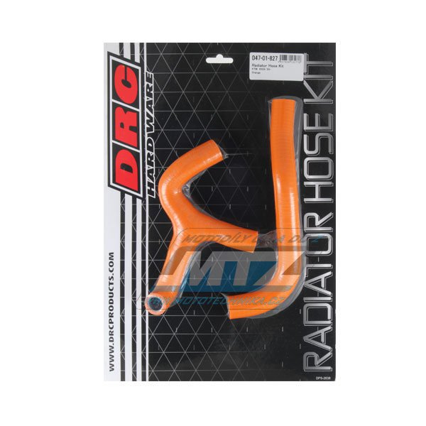 Hadice chladiče KTM 65SX / 09-15 oranž (sada 2ks)