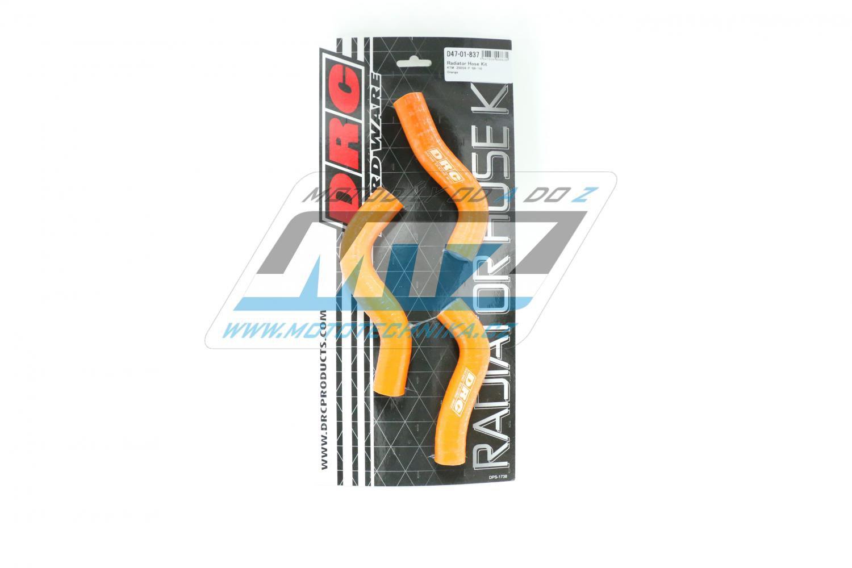 Hadice chladiče KTM 250SXF / 07-10 oranžová (sada 3ks)