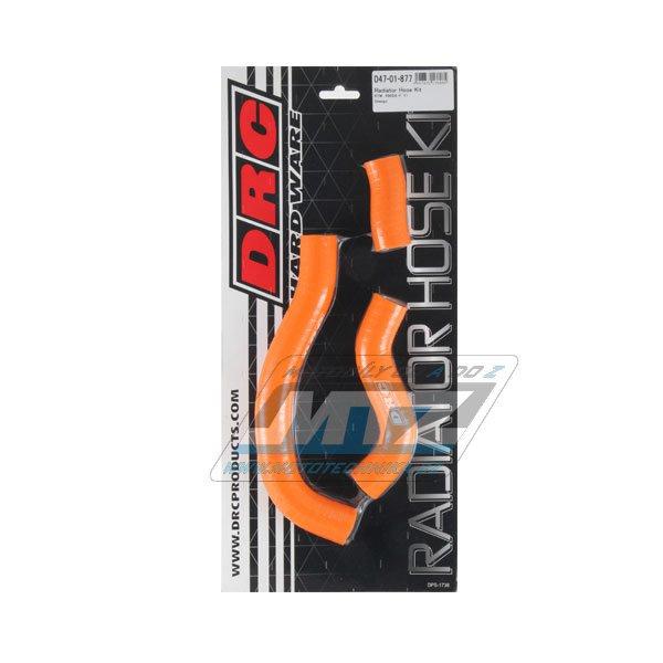Hadice chladiče KTM 450SXF / 11-12 oranžové (sada 3ks)