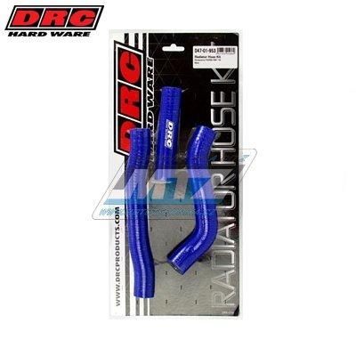 Hadice chladiče Husqvarna FC250 + FC350 / 16-17 modré