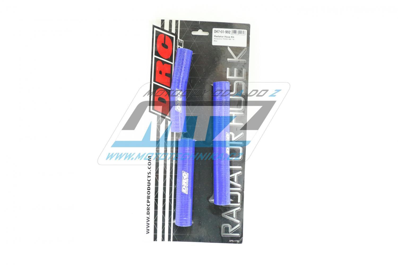Hadice chladiče Husqvarna TC250 + 300 / 14-16 modré (sada 3ks)