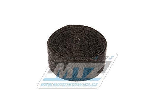 Páska izolační na výfuk 50mm / 10m (750°C) černá
