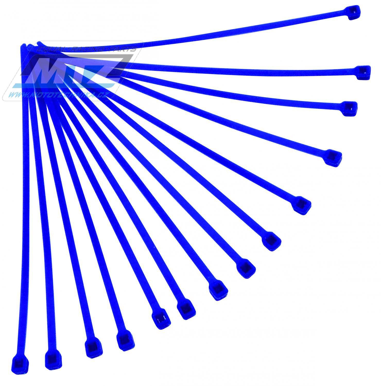 Pásky stahov.20ks 4,8x280 modr